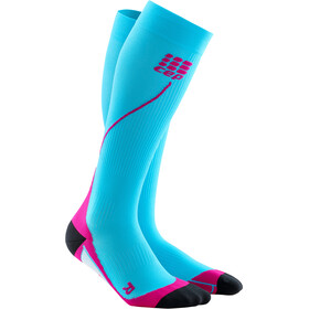 cep Pro+ 2.0 Run Socks Women hawaii blue/pink